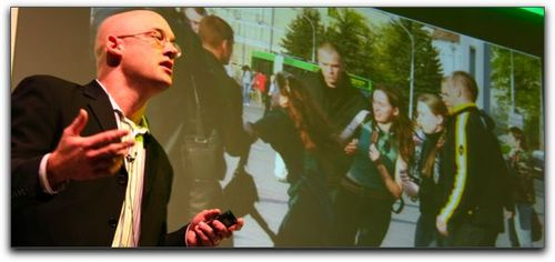 Clay Shirky and Belarus Flashmobbers