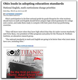 Education Standards Titanic