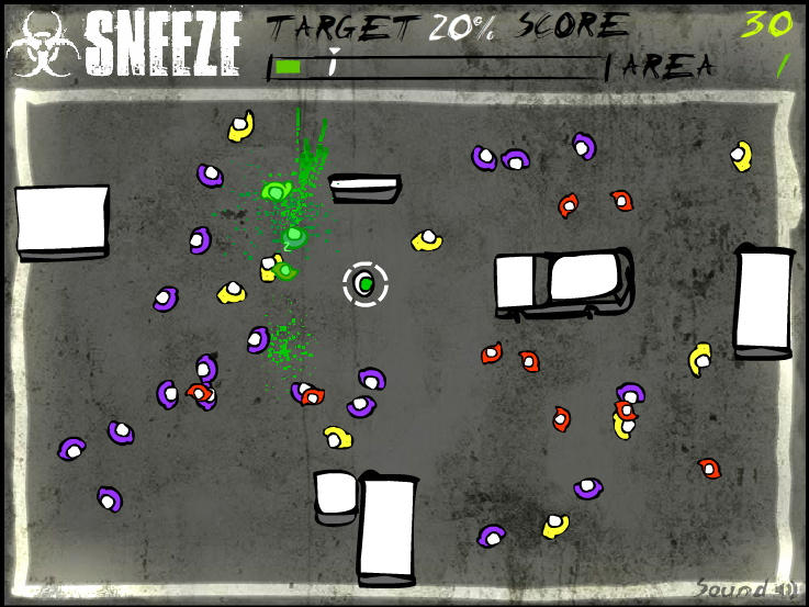Routes Game - Sneeze Level 1