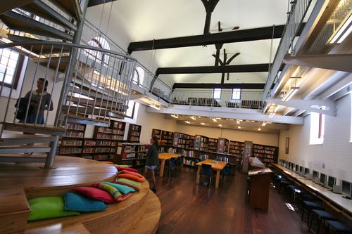 St Cyprian's Library - school architecture